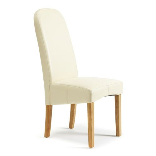 Dining Marlow Cream faux leather